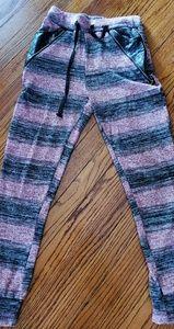 Pants - Burgundy leggings sweat pants